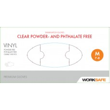 Vinylhandskar Worksafe Ftalat & puderfri Smal