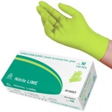 Nitril Handskar Evercare Slät Limefärgad  ( I LAGER !!!)