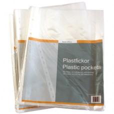 Plastficka A4