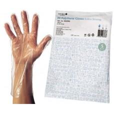 Polyetenhandskar extra strong engångshandske